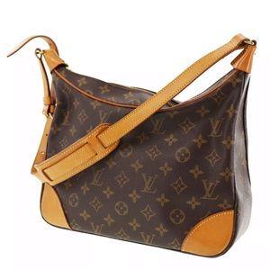 LOUIS VUITTON Boulogne 30 Shoulder Bag Monogram